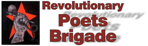 Revolutionary Poets Brigade -- San Francisco